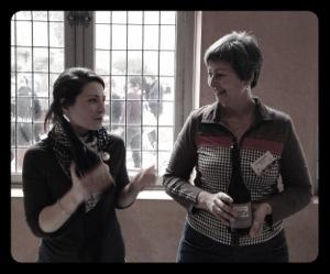 Le domaine Montirius représenté par Justine et Christine Saurel lors Live Tasting du Vinocamp Rhône